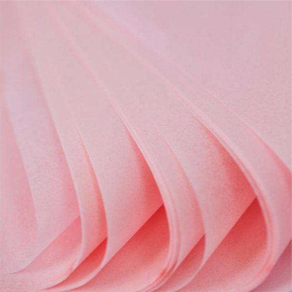500 Sheets Acid Free Tissue Paper 500x750mm 17gsm Pale Pink
