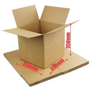25pcs Regular Slotted 350 x 350 x 350mm Cube Mailing Box