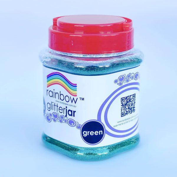 Glitter Jar 250g Green