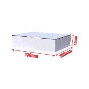 100pcs Regular Slotted 130 x 100 x 40mm Mailing Box
