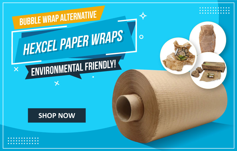 Hexcel Paper Wrap - An Alternative to Bubble Wrap