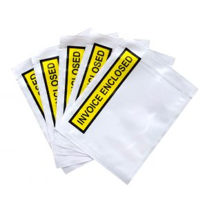 Invoice Enclosed Pouch