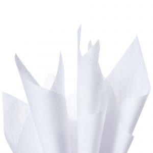 Tissue paper white